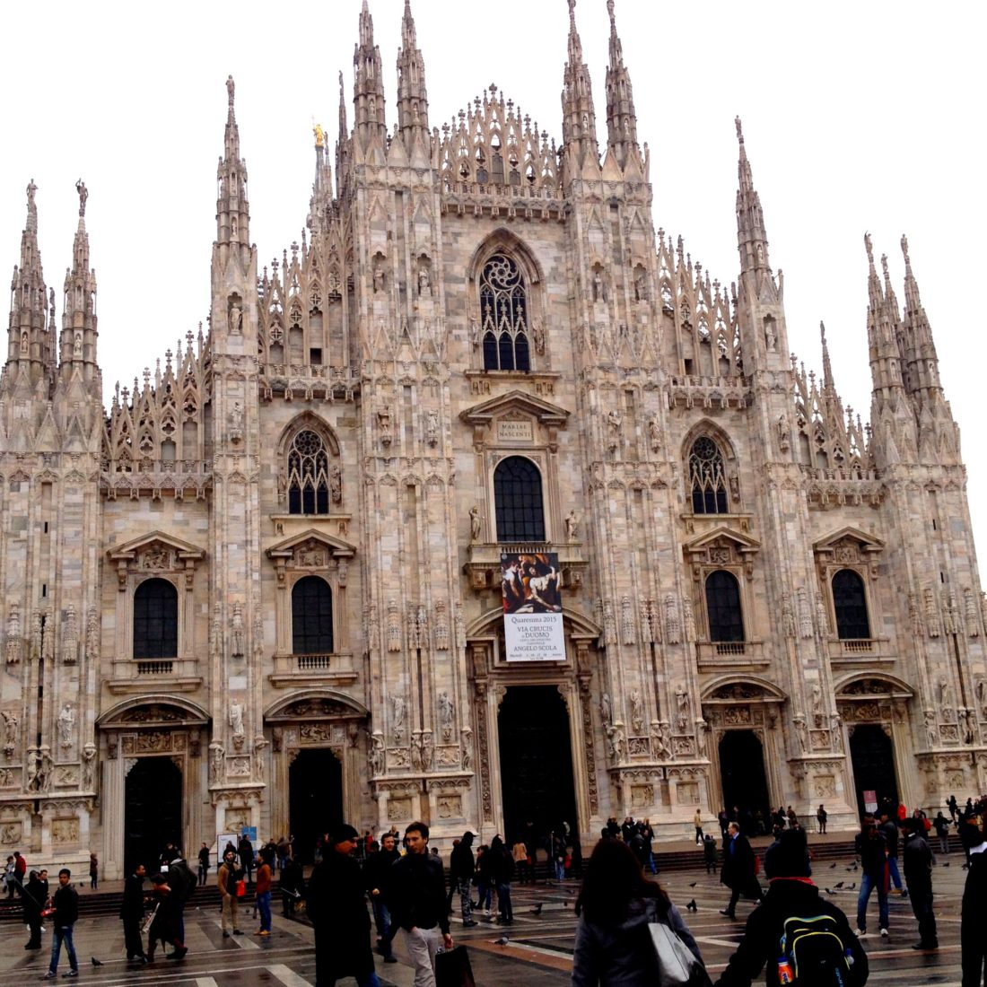 Milan, Padua & Lake Como trip – part 1 graphic
