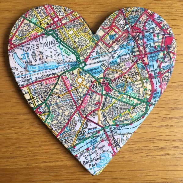 london map coaster