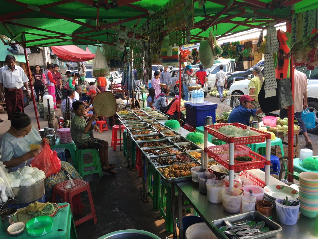 yangon food market