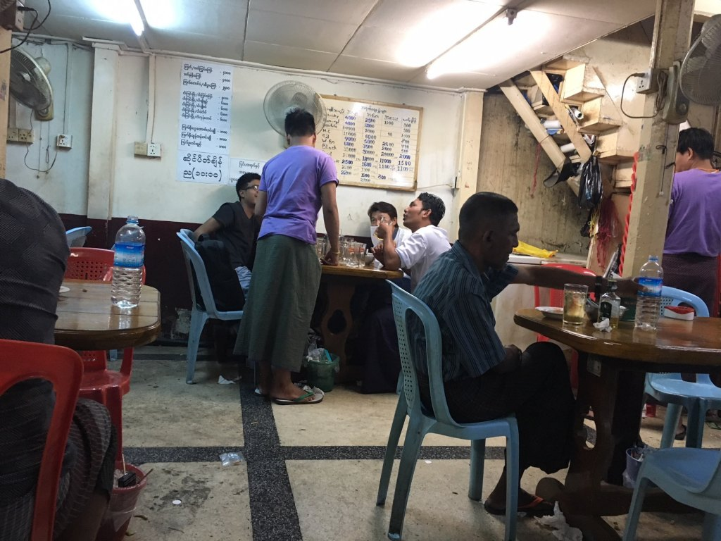 local bar in yangon