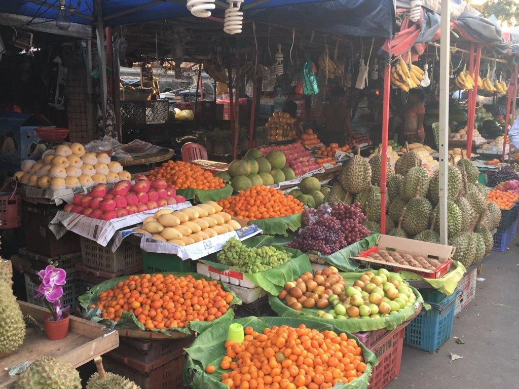 yangon fruit and veg market