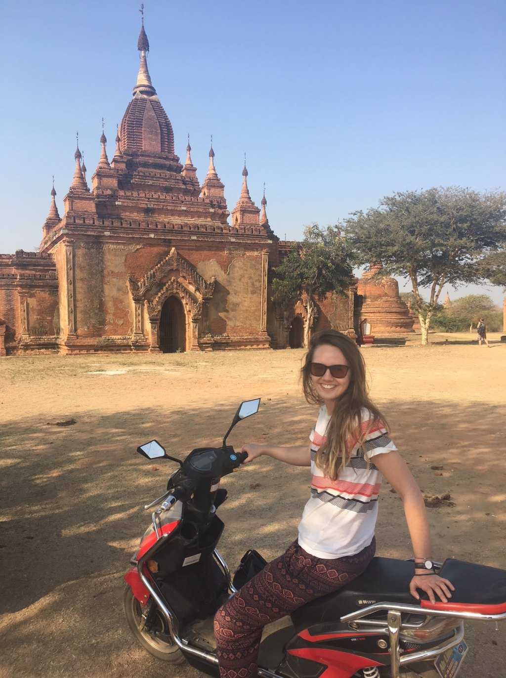 scooters in Bagan