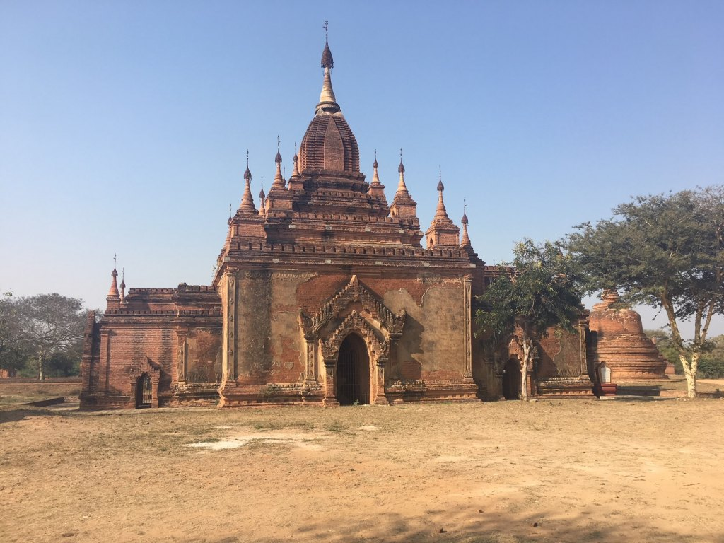 archaeological area bagan