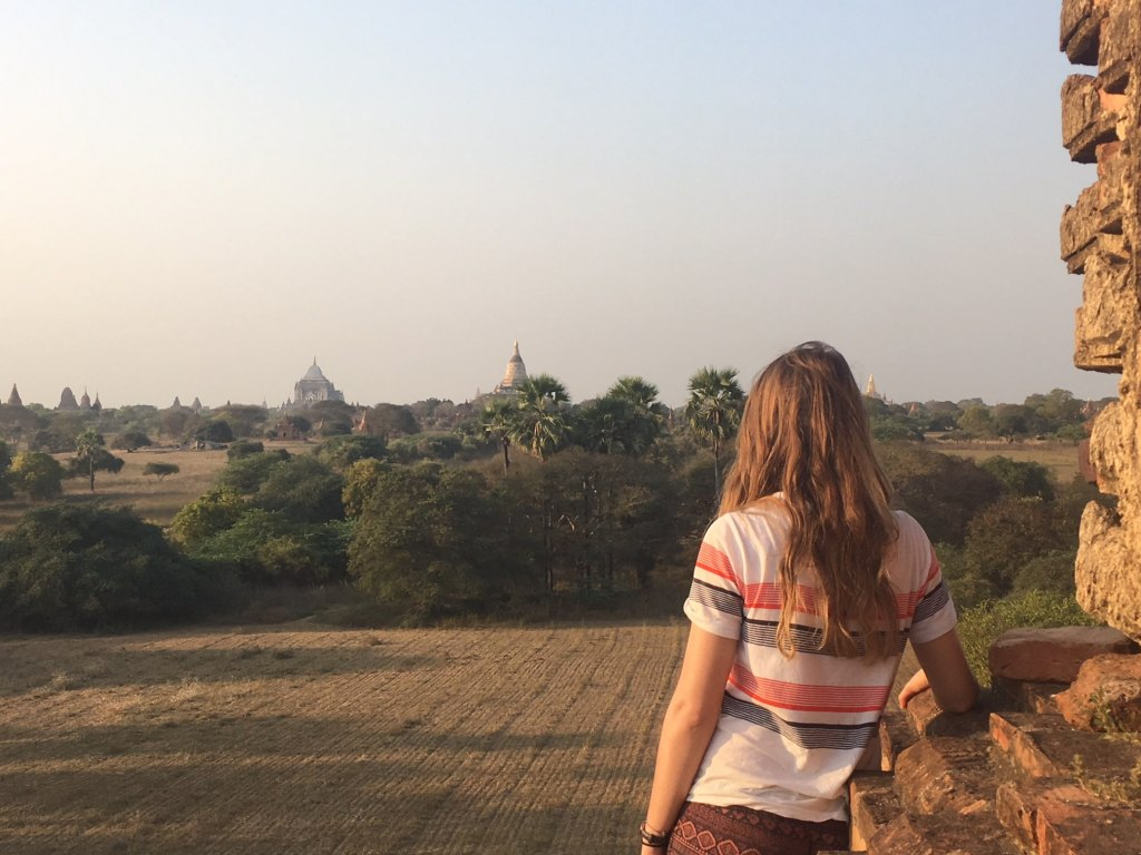 watching sunset bagan