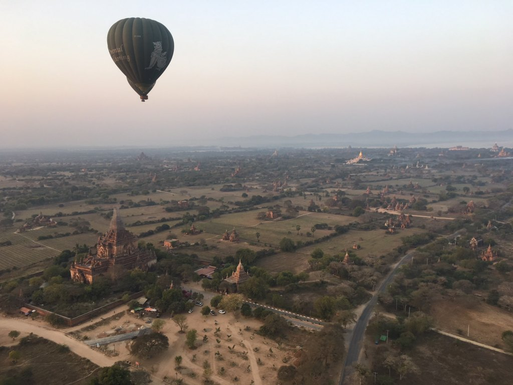 amazing view, bagan